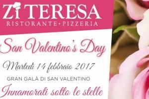 San Valentino 2017 al Ristorante Zi Teresa